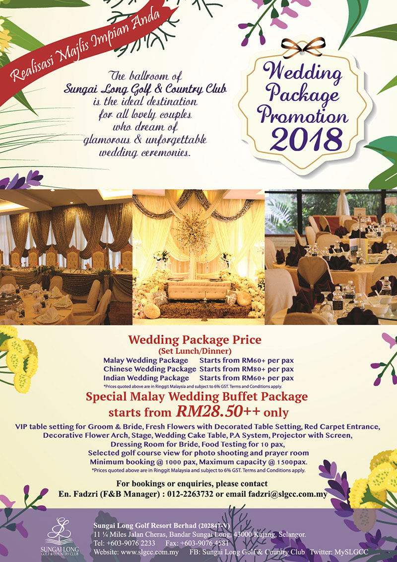 Are You Curly Looking For A Wedding Reception Venue We Guess Would Like To Check Out Our Latest Package Promotion Here